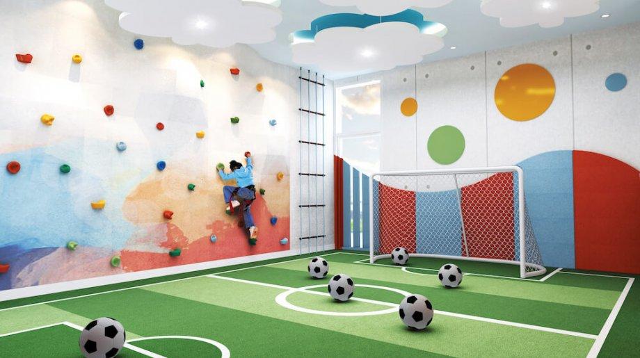 Phòng vui chơi dành cho trẻ em ngay The Ascentia